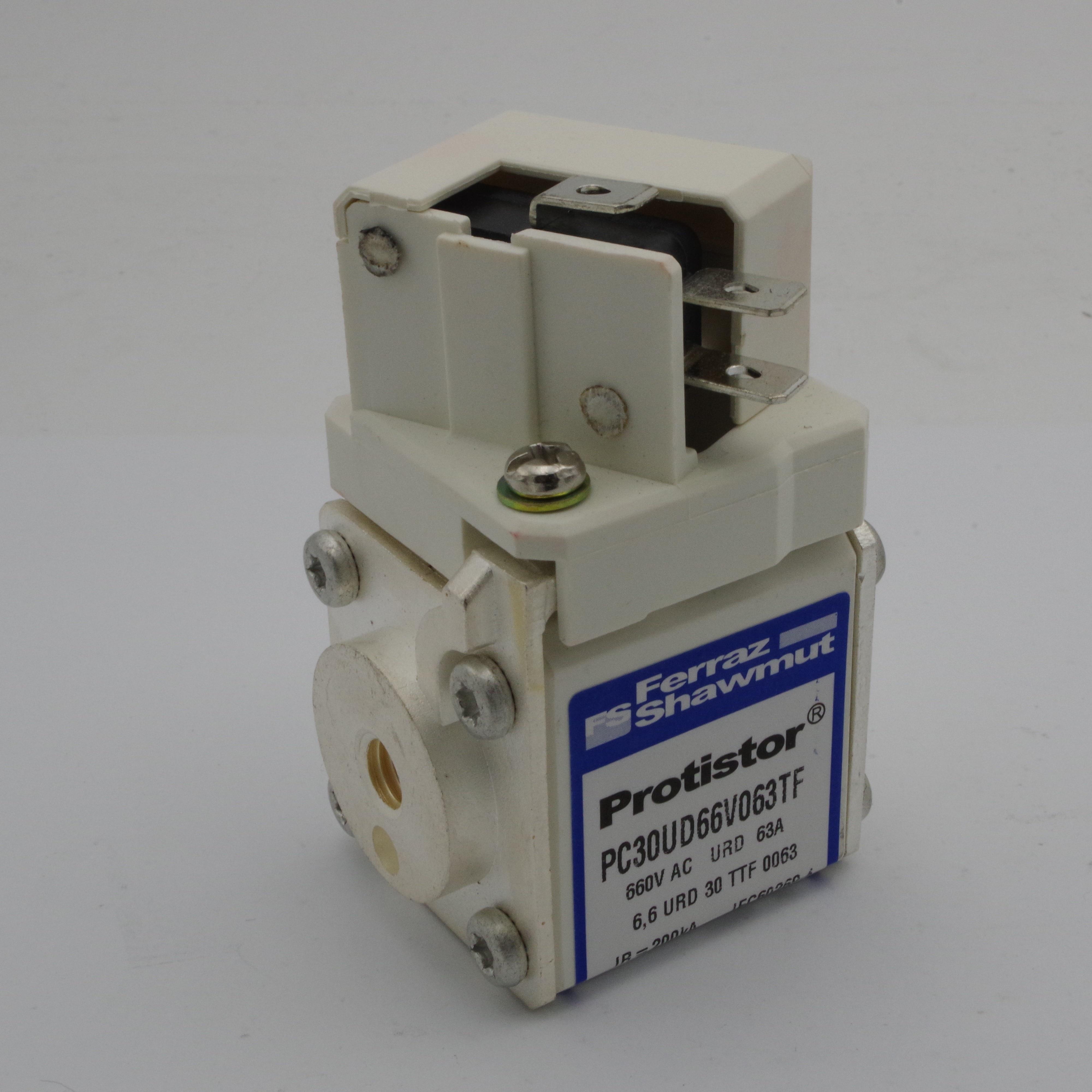 3 uds. PC30UD69V63TF Ferraz Shawmut fusible 63A 690V, fusible de alimentación para interruptor de protección eléctrica