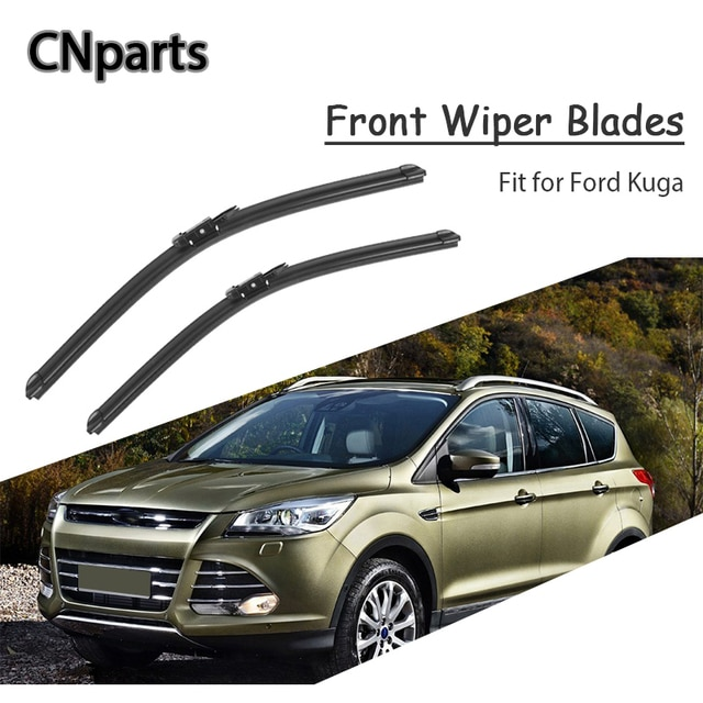 Auto Parts Car Styling Windshield Soft Rubber Front Wiper Blades Arm Kit For Ford Kuga MK1 MK2 2018-2008 Replacement Accessories