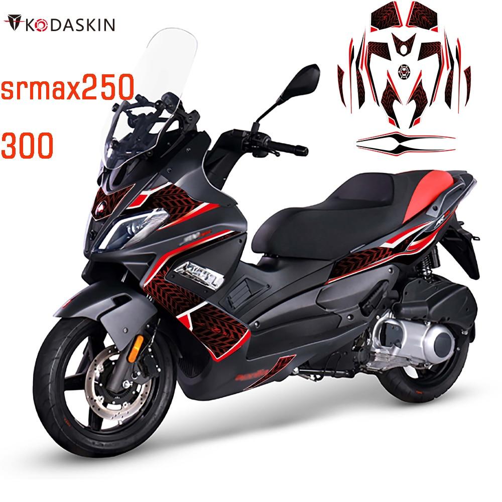 Kodaskin 2D Printing Faring Sticker Motorcycle Decals Decoration for Aprilia srmax 250 300 SR MAX 250 300