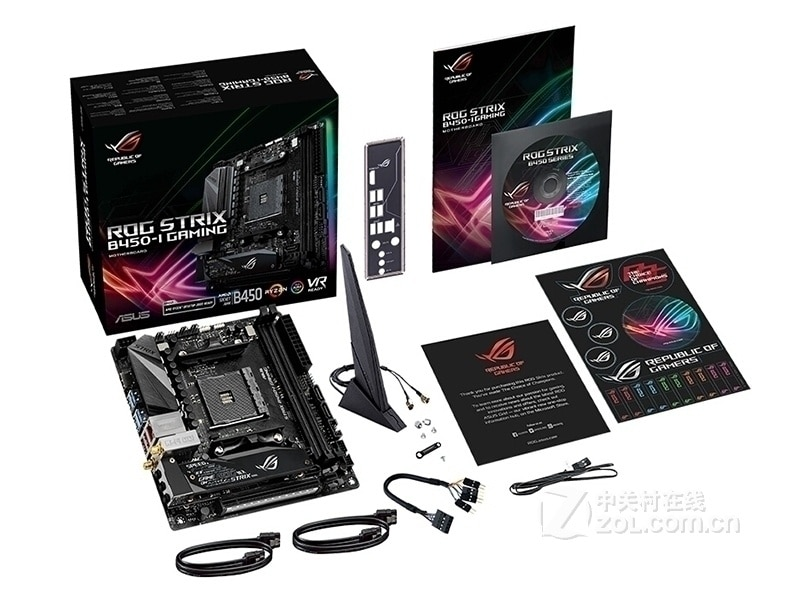Review New ASUS ROG STRIX B450-I GAMING desktop motherboard  Socket AM4 DDR4 32GB USB2.0 USB3.1HDMI  mainboard