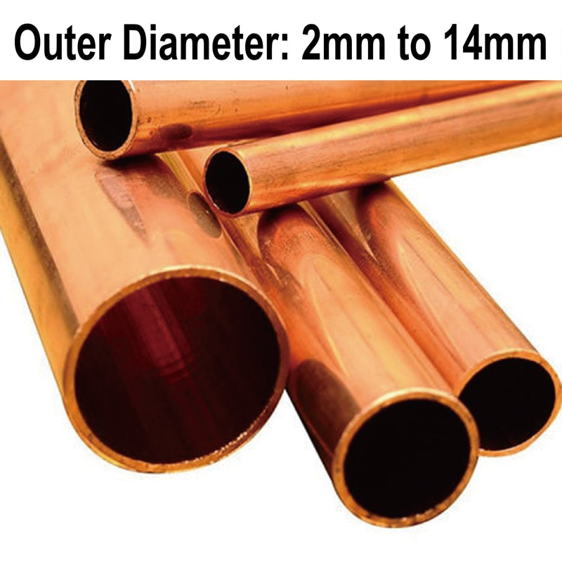 Copper Pipe/Tube(Outer Diameter x Wall Thickness x Length),Many Sizes For Choice