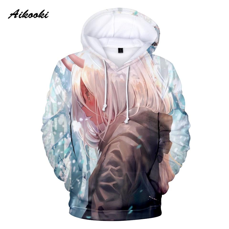 Heißer verkauf Liebling In Die Franxx 3D Kapuzen Beliebten Anime 3D Drucken Hoodies Jungen mädchen Sweatshirts Neutral Straße Kleidung pullover
