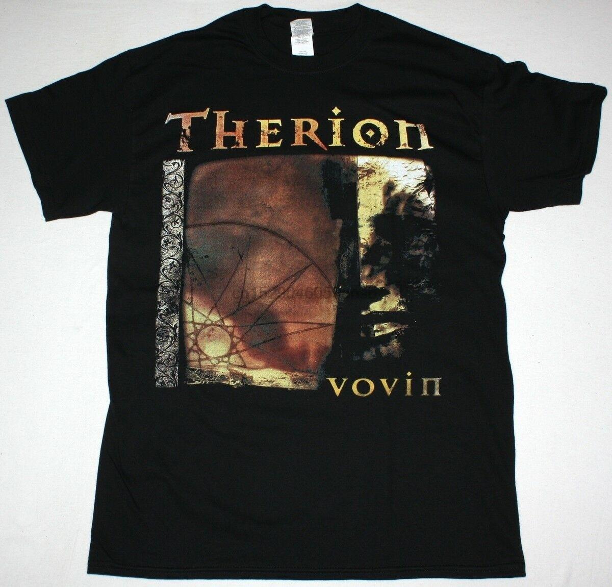Therion Vovin sinfónica de Metal Gótico Tristania Epica Nightwish nuevo negro camiseta