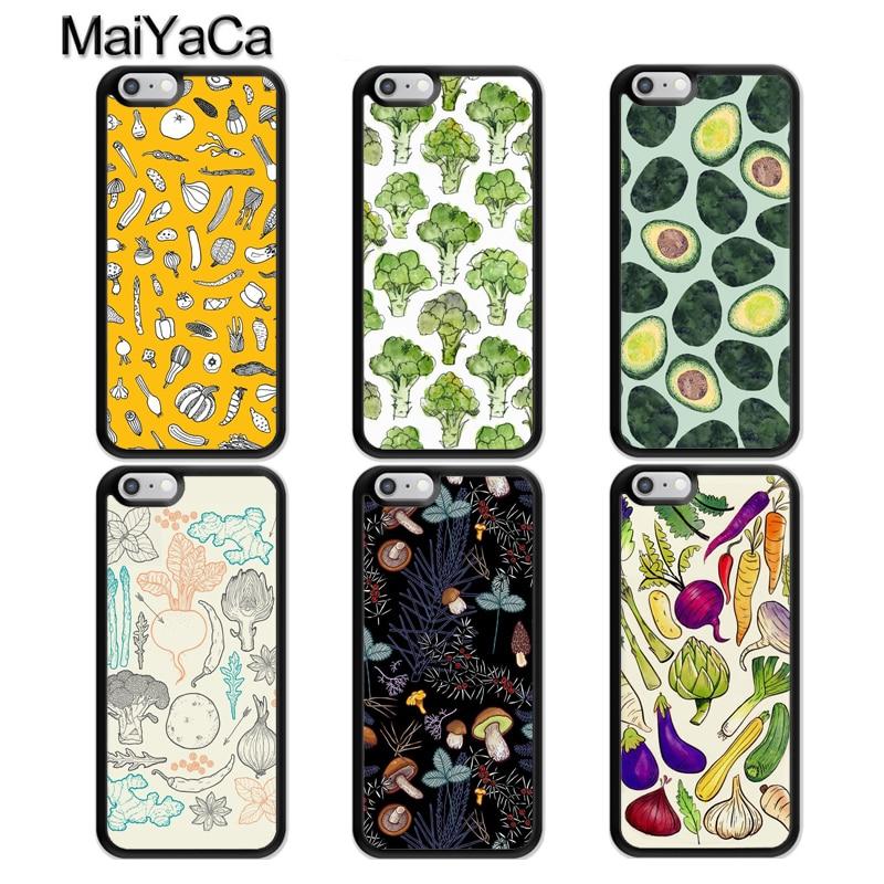 Резиновый чехол для телефона MaiYaCa Vegan Veggies для iphone 11 Pro MAX X XR XS MAX SE 2020 6S 7 8 Plus 5S