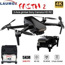 LAUMOX Faith 2 Drone 4K GPS HD Camera 3-Axis Gimbal Quadcopter Professional 35min Flight RC 5KM SG90