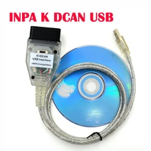 INPA K + CAN FT232RQ чип с переключателем Диагностический кабель для BMW INPA K DCAN USB интерфейс автомобильный диагностический инструмент для BMW K CAN Inpa