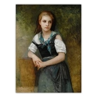 citon william adolphe bouguereau%e3%80%8aa study for the secret%e3%80%8bcanvas oil painting artwork poster picture wall decor home decoration