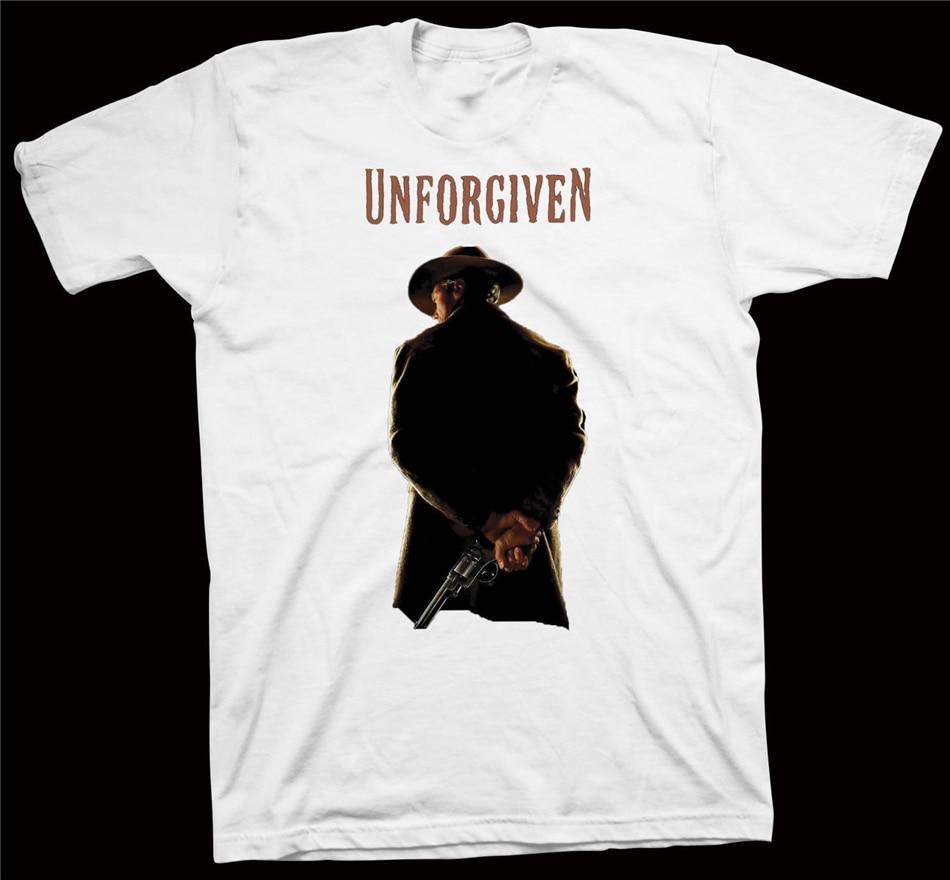 Camiseta engraçado do presente do filme de hollywood de morgan freeman do hackman do gene de clint eastwood