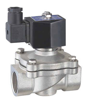 2W Series Gas/Water/Air/Oil Solenoid Valve,brass and stainless steel body enlarge