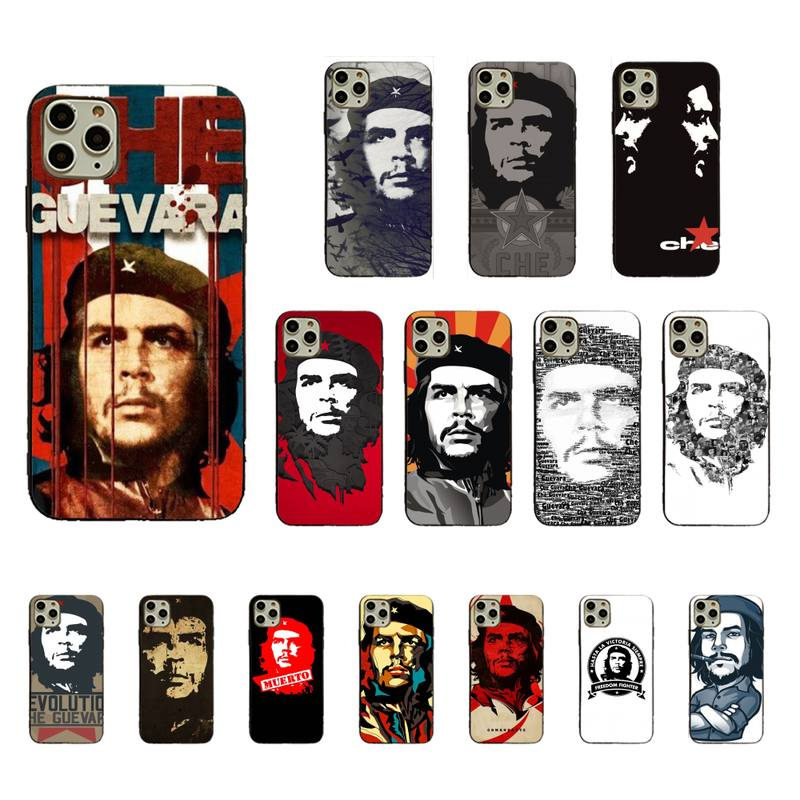 Maiyaca Che Guevara personalizado estuche para teléfono suave para iPhone 11pro MAX 8 7 6 6S Plus X XS X MAX 5 5S SE XR Fundas Capa