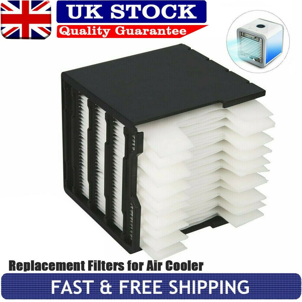 For Arctic Air Replacement Filters For Personal Space Air Cooler Fan Conditioner Replacement Filter 11x11x12cm Cleaning Tool New