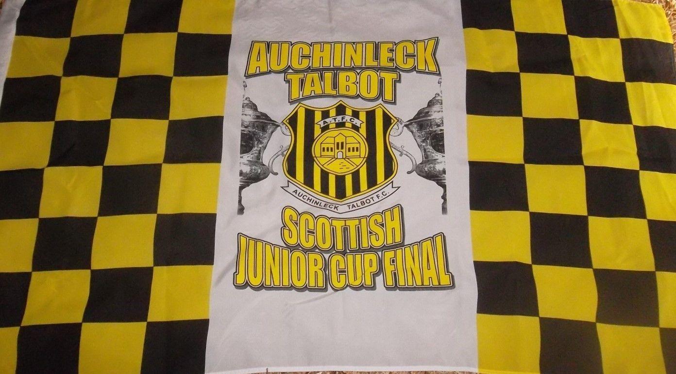3ft x 5ft3 x5ft auchinleck talbot fc bandeira impressão poliéster bandeira tamanho 150*90cm