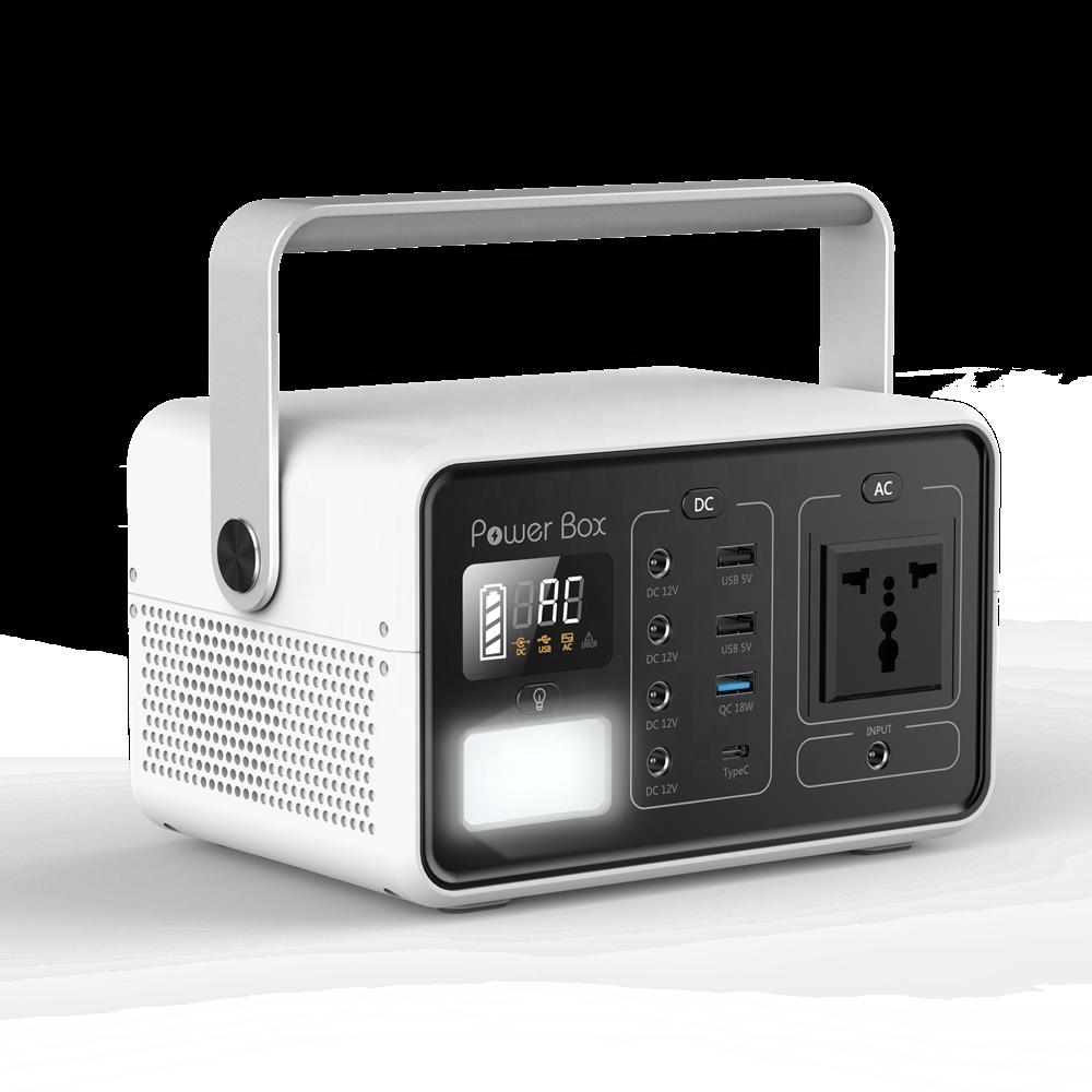 Portable solar generator power bank 110V/220V 60000mAH Battery mini solar power generator enlarge