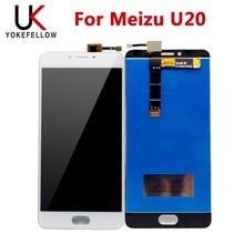شاشة الكريستال السائل ل Meizu U20 شاشة الكريستال السائل مع الجمعية شاشة تعمل باللمس