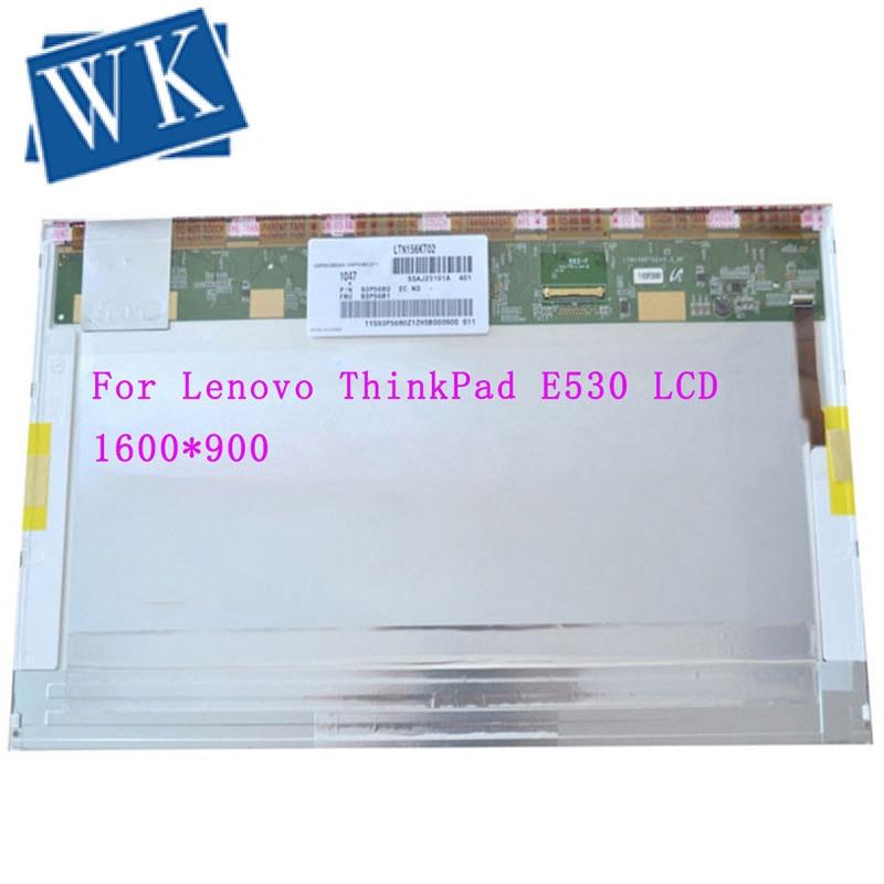 Matriz lcd de 15,6 pulgadas para Lenovo ThinkPad E530, W510, W520, W530, T510, T520, T530, pantalla lcd para ordenador portátil de 1600x900
