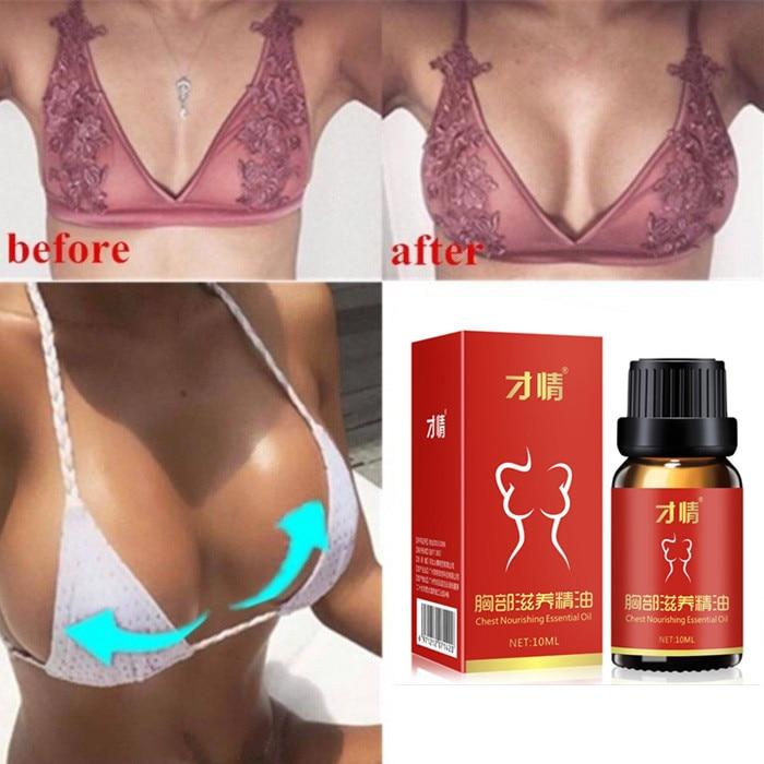 10ML Hot Breast Essential Oils Augmentation Promote Breast Growth Cream Chest Enlarge Effective Brea