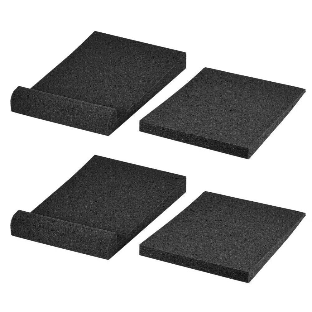 2 шт., акустические поролоновые прокладки для монитора, 5 дюймов, 6 дюймов