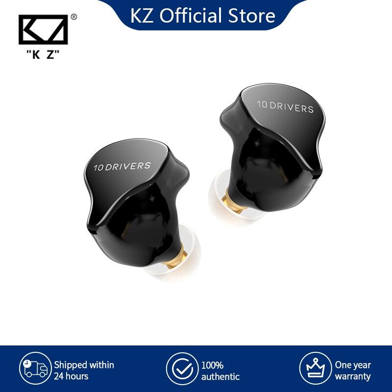 سماعات أذن KZ SK10 TWS متوافقة مع البلوتوث 5.2 لاسلكية هايبرد HiFi لعبة سماعات أذن تعمل باللمس مع التحكم في الضوضاء سماعات رياضية