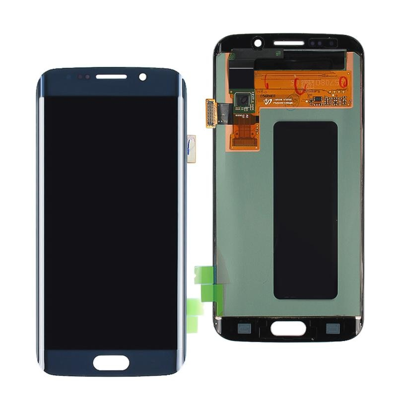 100% Original LCD Display For Samsung Galaxy S6 edge Plus LCD Display G928 G928F Touch Screen Digitizer Assembly With Frame enlarge