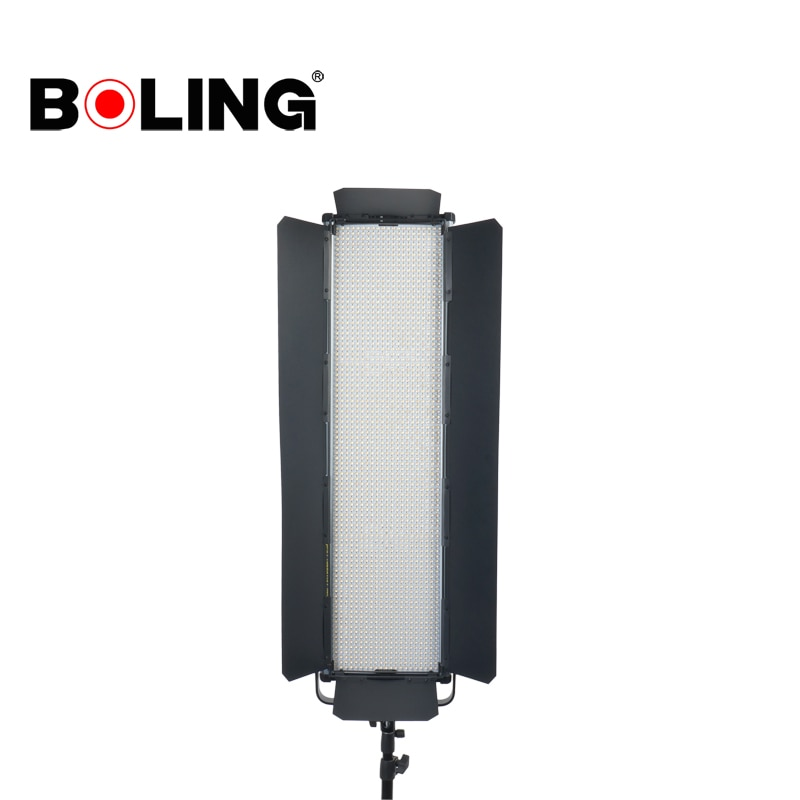 بولينغ BL-2280SY أسود أربع أوراق LED لوحة في Barndoor للتصوير ستوديو فلاش ضوء BL-2280P BL-2280PB BL2280P BL2280PB