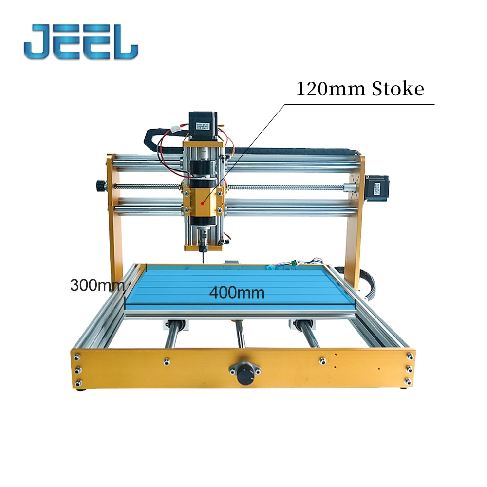 CNC 3040 Engraving Machine with Control Box,  Support 40w Laser/500w Spindle engraver Machine for Aluminum Wood PCB enlarge