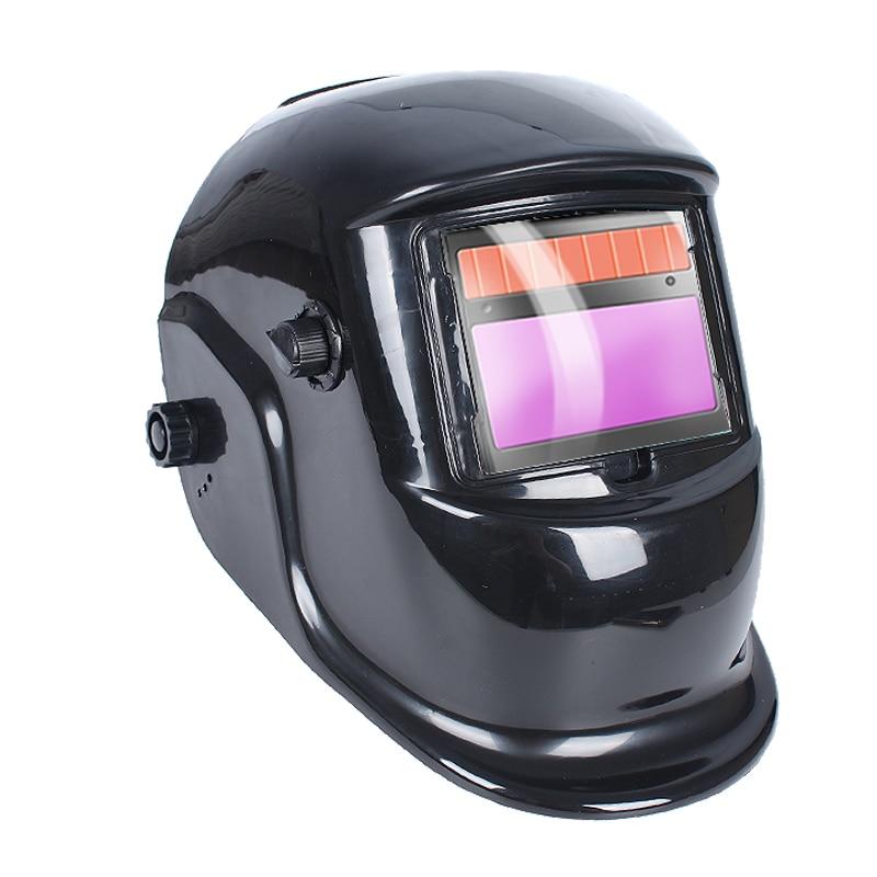 Solar Energy Fully Automatic Dimming Welding Mask Welding Cap Head-mounted Welder Mask For Argon Arc Welding Anti-roast Face