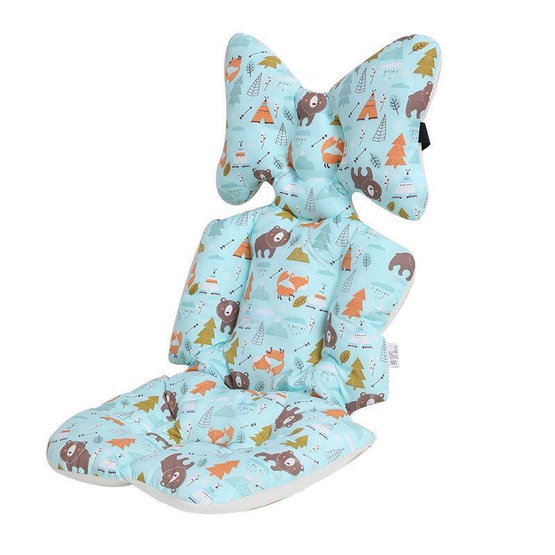 Подушка для сиденья коляски, универсальная вставка для автомобильного сиденья, мягкие матрасы, подушка для детской коляски, аксессуары для ...