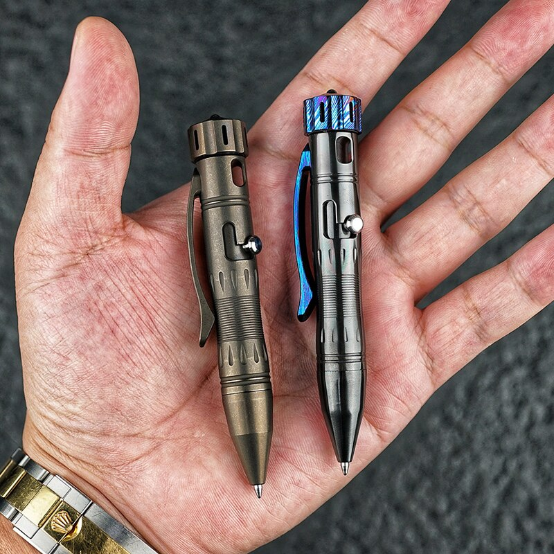 PX10 Bolt Tactical Pen Titanium Alloy Defense Pen Sign Pen Outdoor EDC Equipment enlarge