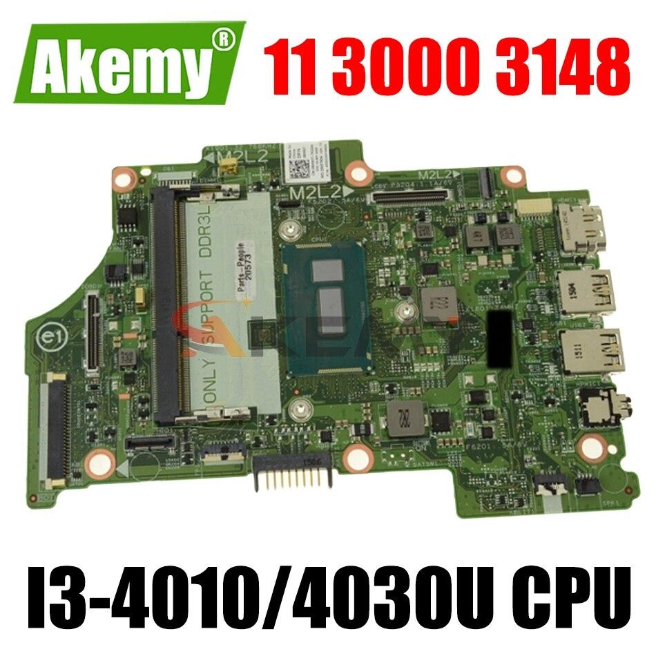 CN-0JJYG4 0JJYG4 JJYG4 13321-1 8X6G1 لديل انسبايرون 11 3000 3148 13 7347 اللوحة المحمول مع I3-4010/4030U 100% اختبار