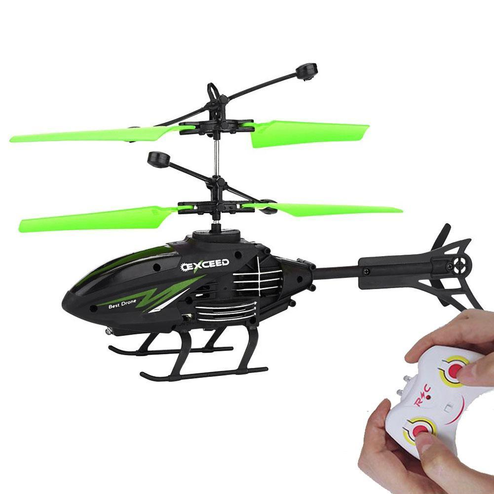 Ultra-wide Infrared Control 2ch Gyro Helicopter Remote Control Helicopter RC Drone Kids Outdoor Funny Toys Gifts Blue Red