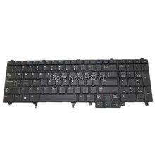 Ноутбук США клавиатура для DELL для Latitude E6520 для Precision M4800 M6800 английский 0564JN 564JN PK130VI2B00 указательный и с подсветкой Новый