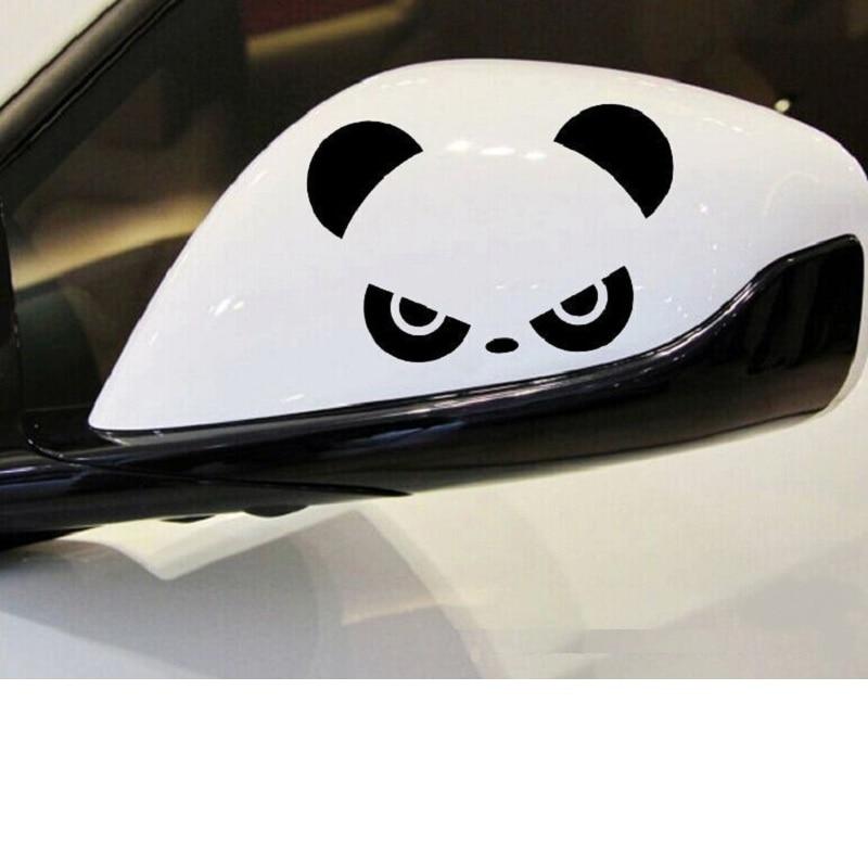 13 см x 9 см мультфильм панда виниловые автомобильные наклейки Переводные картинки аксессуары для мотоциклов Автомобильные окна декоративны...