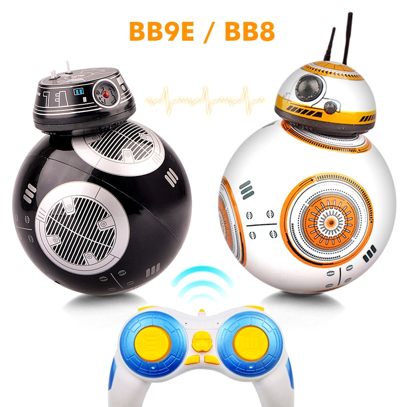Upgrade Intelligent RC BB 8 Robot 2.4G Remote Control With Sound Action Figure BB8 Ball Droid Robot