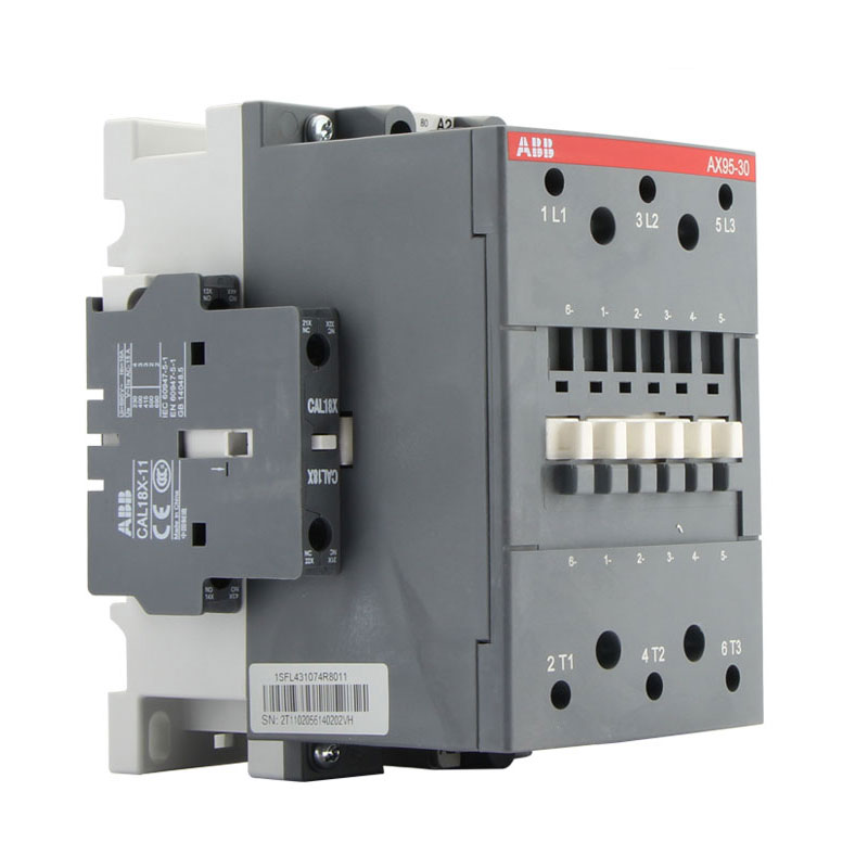 Contator ABB AC AX95-30-11 220V380V110V95A Principal contact3NOAuxiliary contact1NO + 1NC
