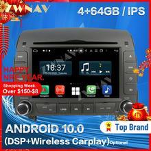 Sans fil Carplay Pour 2004 2005 2006 2007 2008 HYUNDAI SONATA NF YU XIAN Lecteur Android GPS Auto Audio Stéréo Radio Enregistreur