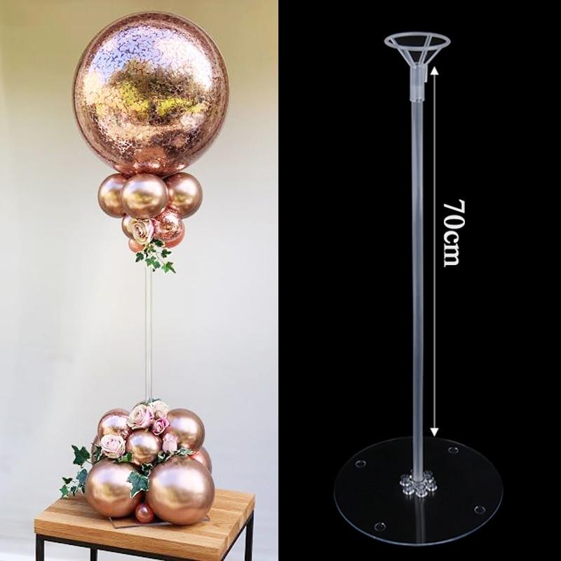 35/70cm Birthday Party Decor Balloons Stand Wedding Table Balloon Holder Column Baloon Stick Globos Home Decoration Accessories