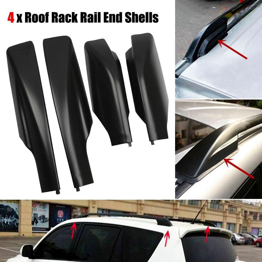 4pc auto macio rack de teto do carro bagagem exterior do telhado transportar carga 60kg bagagem fácil acessórios do carro fortoyota rav4 xa30 2006-2012