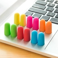 10 pairs comfort soft foam ear plugs tapered travel sleep noise reduction prevention earplugs sound insulation ear protection