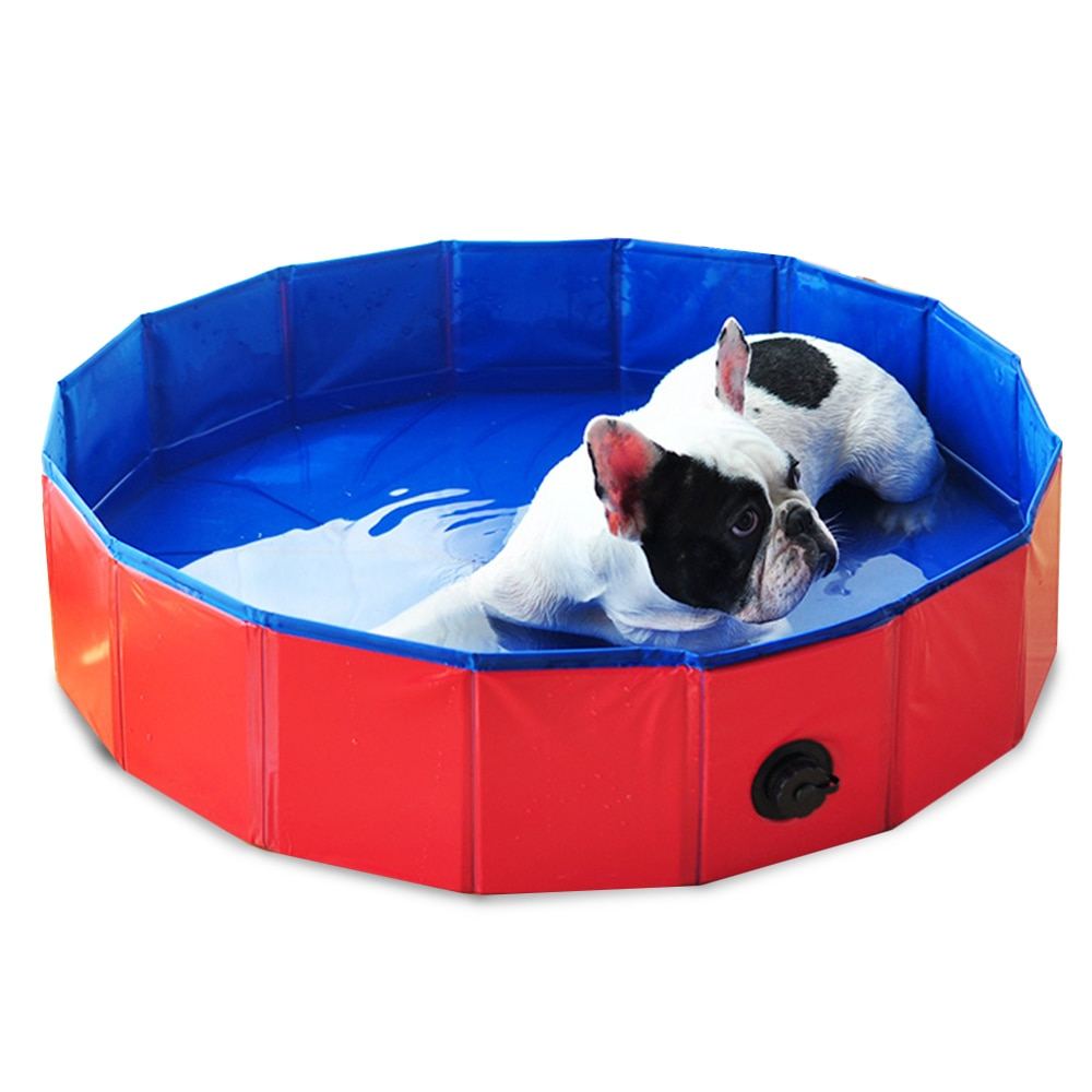 Foldable Pet Dog Swimming Pool Bath Bathtub Pool For Dogs Cats Cleaner Bath Bucket Tub Cleaning Pet Cat Dog Cleaner Accessories