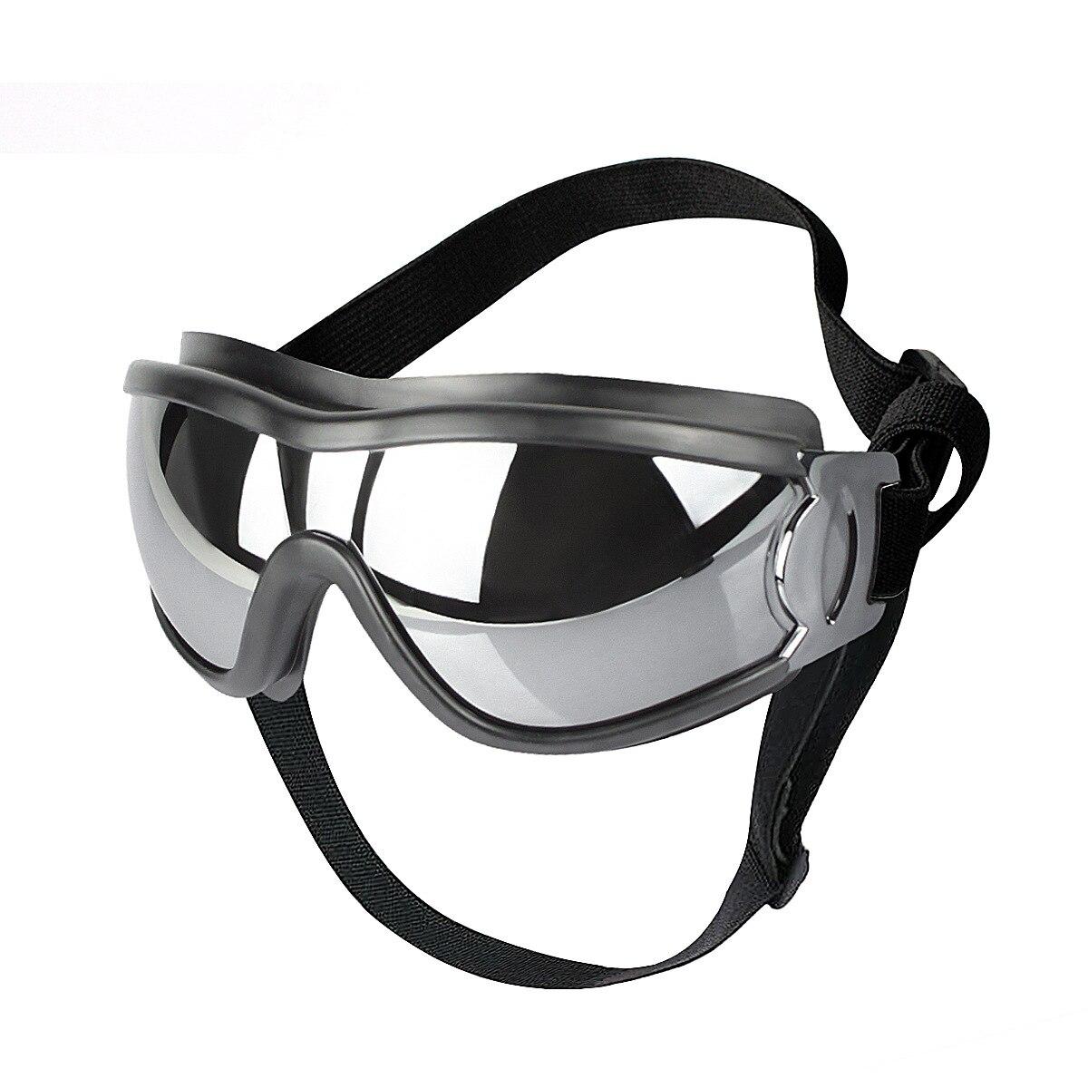 Солнцезащитные очки для домашних животных, регулируемые, водонепроницаемые, ветрозащитные, с защитой от УФ-лучей