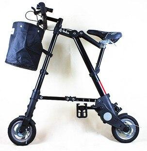 متعددة الوظائف دراجة هوائية جبلية دراجة 8-10 بوصة للطي دراجة تحمل سهلة وسهلة للطي الكبار الرجال والنساء من نوع متغير