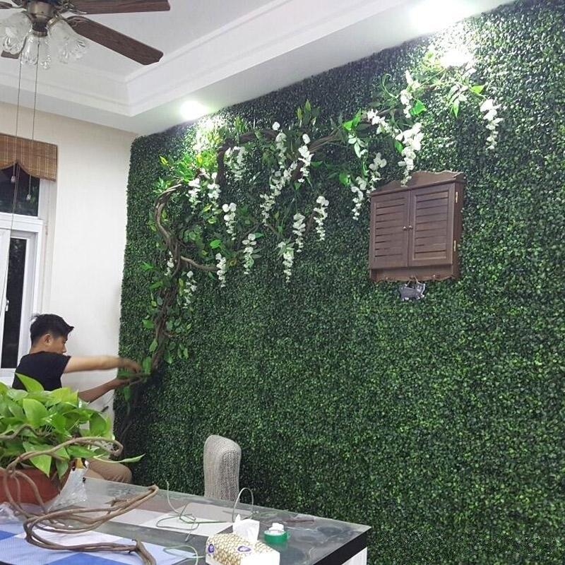 4Pcs 40x60cm Künstliche Rasen Rasen Pflanzen Kunststoff Gras Teppich Sod Garten Dekoration Haus Ornamente Wand