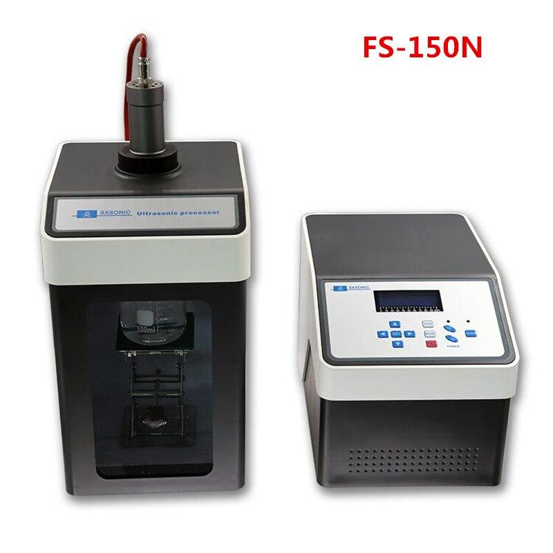 80 W Ultrasonic Homogenizer Sonicator Processor Ultrasonicator Cell Disruptor Mixer CE ISO 20KHZ 500ul-80ml FS-150N
