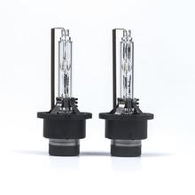 2 adet/grup araba far ampuller Xenon D2S/D1S/D3S/D4S/D1R/ D2R/D3R/d4R HID ampul lamba 4300K 6000K 8000K D2S sıcak satış