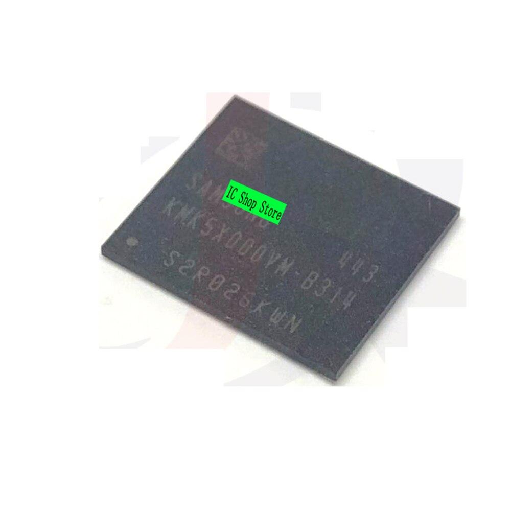 10 قطعة/الوحدة KMK5X000VM-B314 BGA-162 EMCP 32 + 8 الأصلي العلامة التجارية جديد