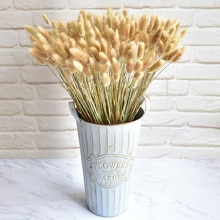 30pcs/60pcs Home Decoration Rabbit Tail Grass Pure Dried Bouquets Artificial Flowers Can Be Put In A Vase For Wedding Birthday