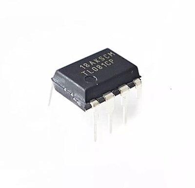 10 pces tl081cp dip8 tl081 dip tl081cn dip-8 ic novo e original
