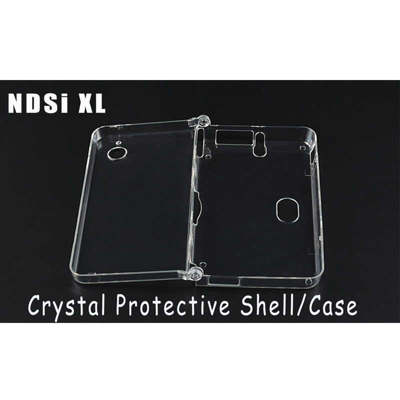 High Quality Hard Crystal Case Clear Cover Shell for NDSi XL Console Anti Scratch Anti Dust Protective Case