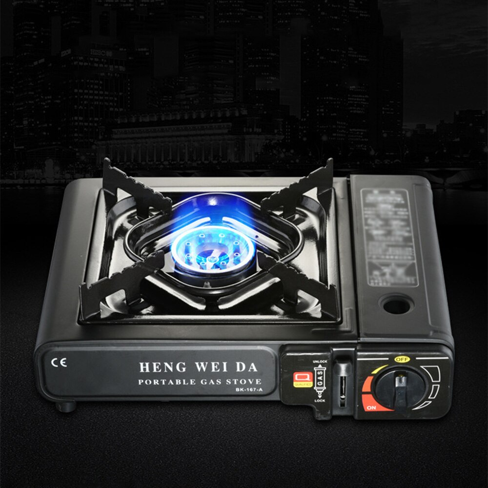 De aleación de cocina de Gas para exterior cocina de Gas portátil equipado con la presión dispositivo de protección adecuado para múltiples escenarios
