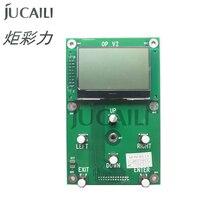 Jucaili Printer 6 Knoppen Key Board Met Scherm Voor Epson Dx5/Dx7/Xp600/5113 Printkop Voor Senyang Enkele Kop Board kit